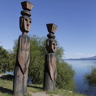 bariloche-nahuel - statues