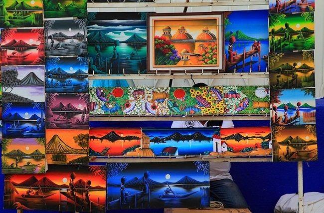 אומנות באנטיגואה